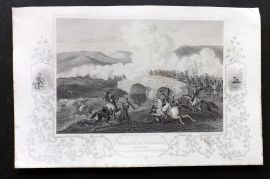 Tyrrell Crimean War 1858 Antique Print. Battle of Tchernaya